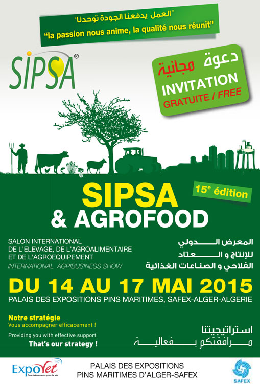 Visit us at Sipsa 2015